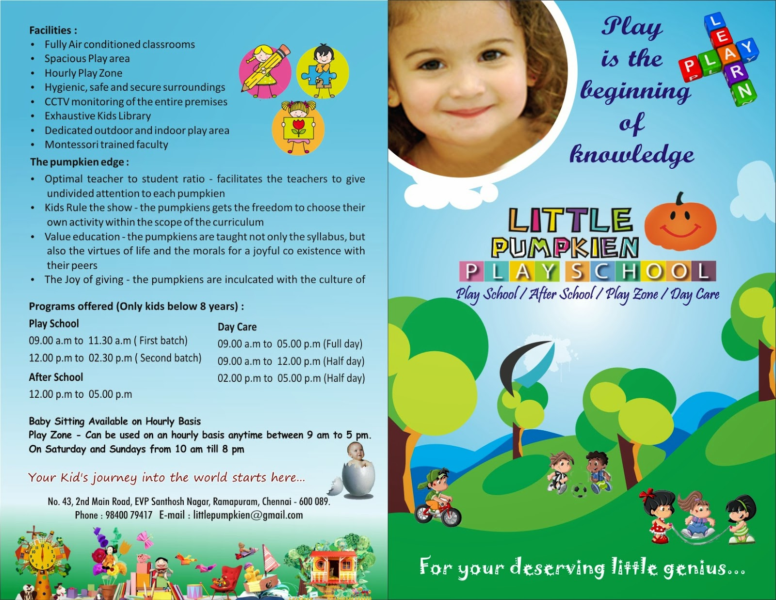 playschool in ramapuram chennai little pumpkien playschool littlepumpkienplayschool com index html