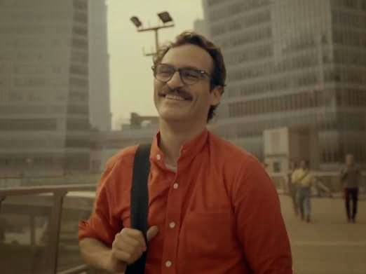 her, moustache