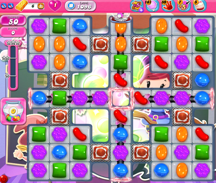 Candy Crush Saga 1096