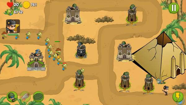 Zombie Wars Invasion PC Game Free Download
