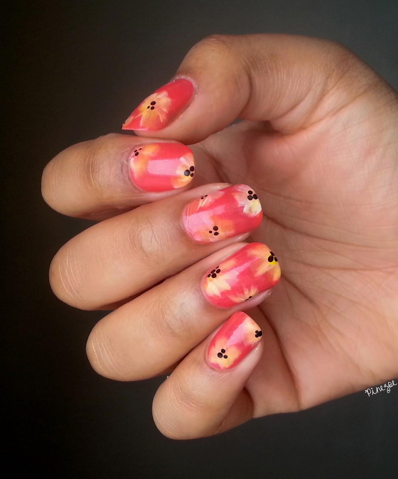 Spring & Flower Nail Art