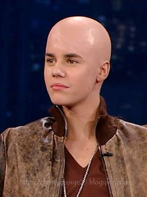 is justin bieber bald. ieber bald. Justin Bieber is