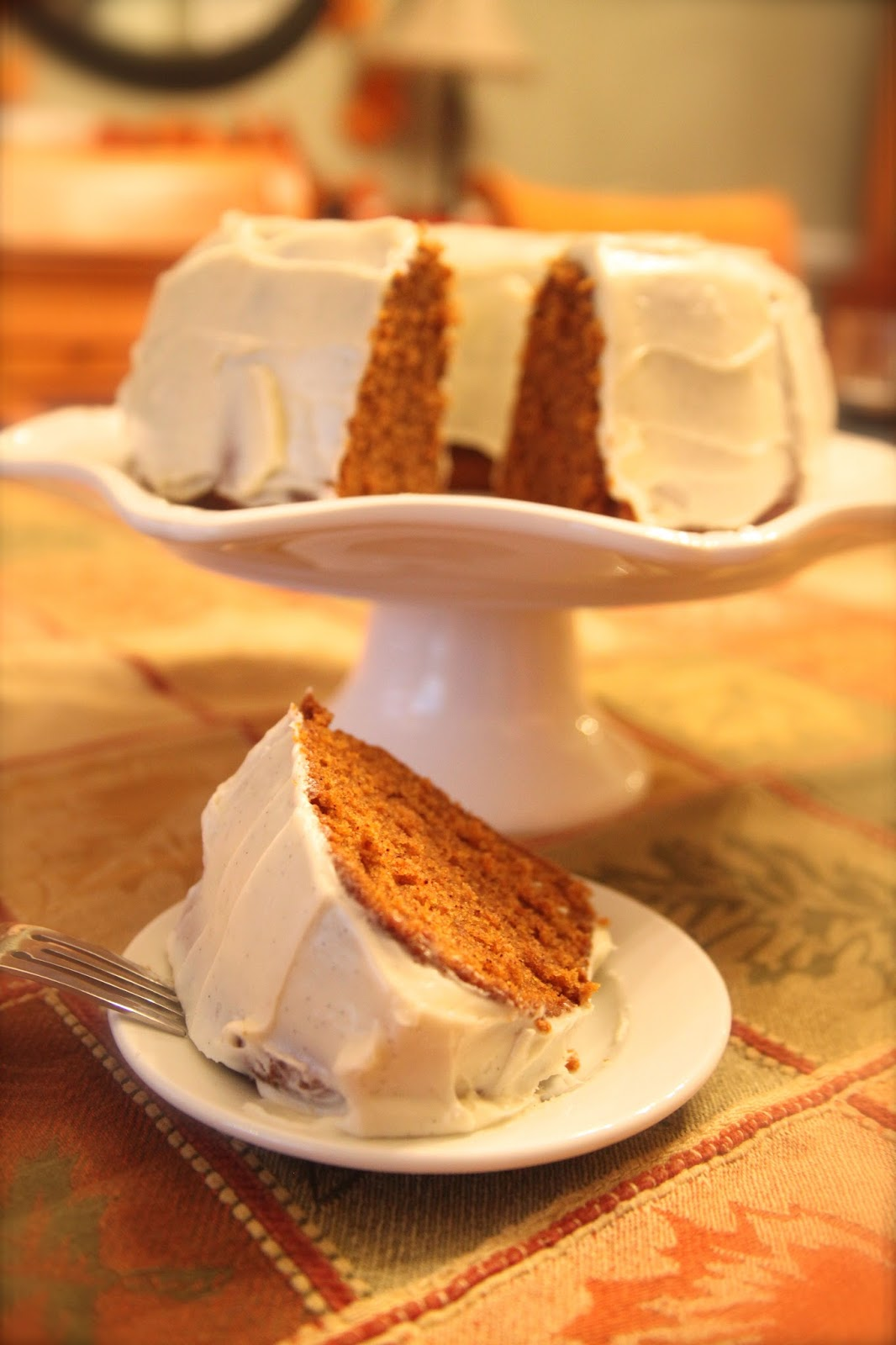Pumpkin, pumpkin bundt cake, autumn desserts