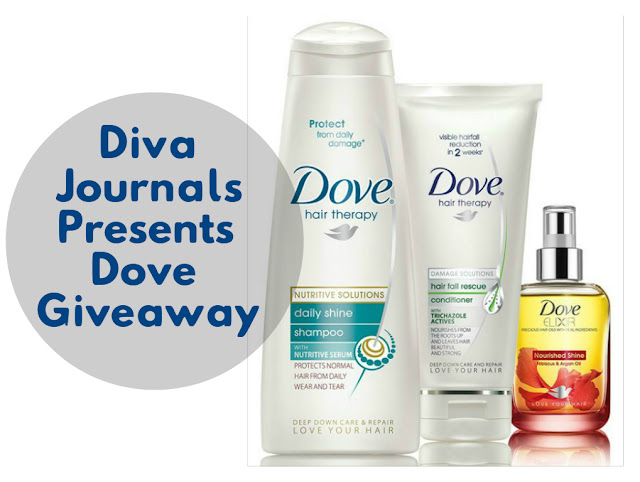 Diva Journals Presents Dove Giveaway