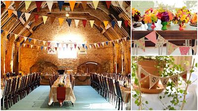 decoração bandeirinhas arraiá de núpcias flores de papel crepom casamento julino