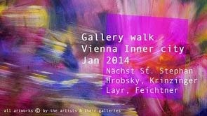 Gallery walk in the Inner City Jan 2014