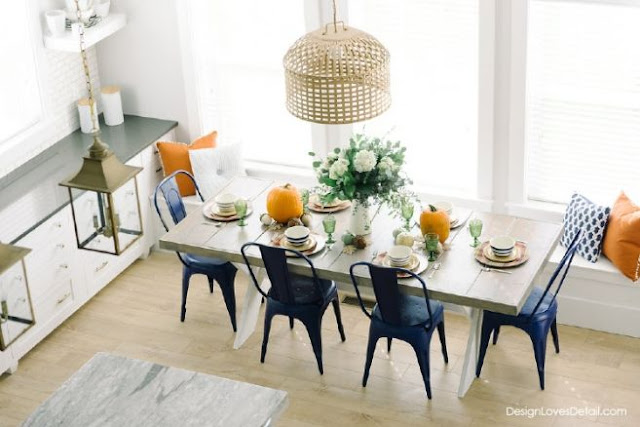 Fall Tablescape Flaunt your Fall Feature by design loves details