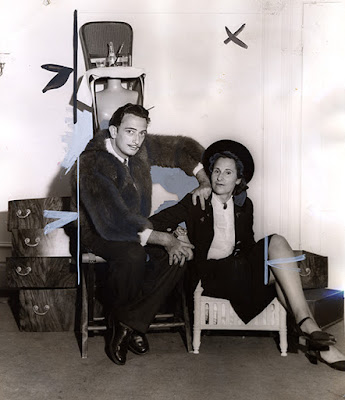 Gala and Salvador Dali, 1941. Courtesy of the San Francisco History Center, San Francisco Public Library.