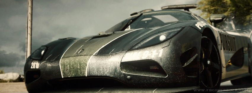 Need For Speed Rivals 3 Facebook Timeline Cover