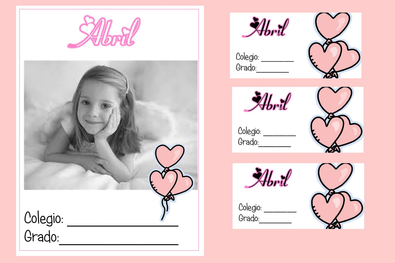 Tapas para Cuaderno y Etiquetas!!!