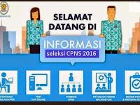 Jadwal Penerimaan CPNS Tahun 2016 dan Cara Pendaftaran
