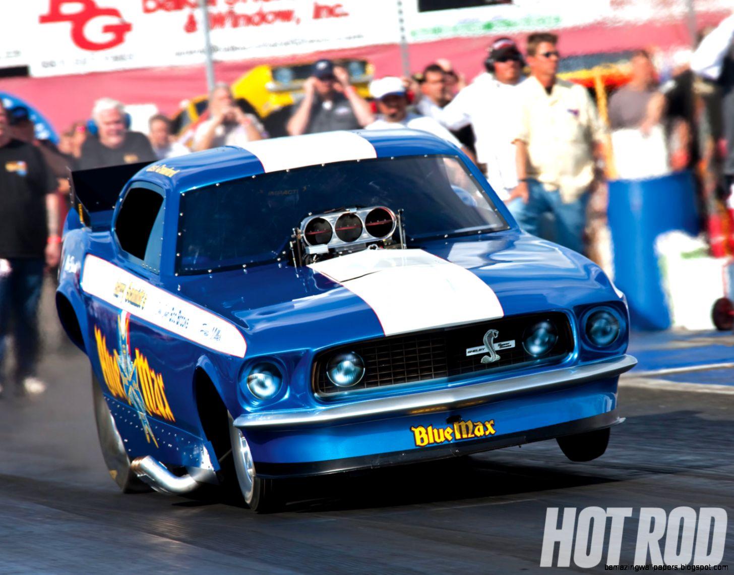 Blue Max Funny Car