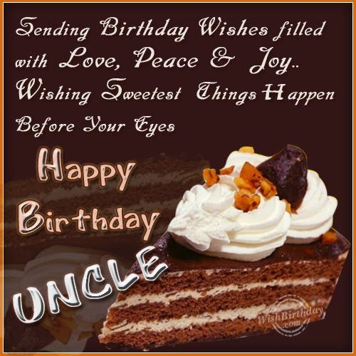 uncle birthday card  free happy birthday greeting printable cards, Birthday card