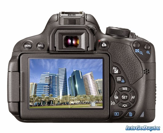 Canon EOS 700D, Full HD video, creative filters, creative effects, Digic 5 image processor, novice photographer, new DSLR camera, camera for holiday,