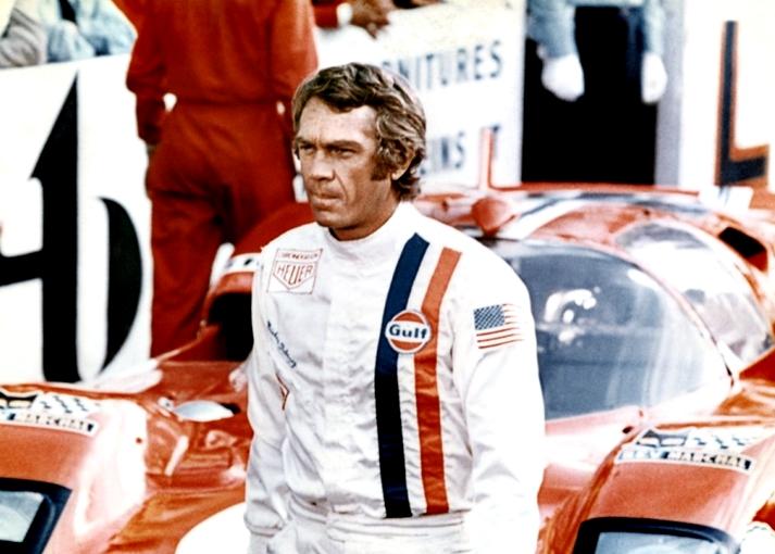 Steve McQueen en Le Mans