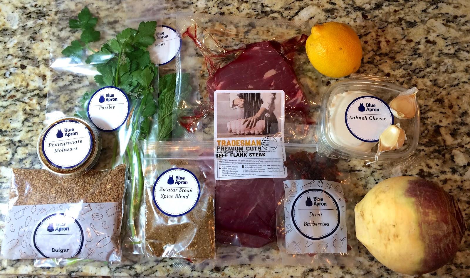 Blue apron qvc - Blue Skies For Me Please Blue Apron Food Subscription Box Review Part 4