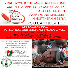 Support The Angel Relief Fund for displaced Nigerians Today