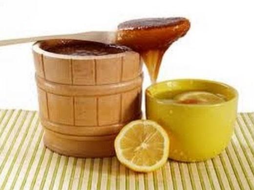 Miel y limón para el té