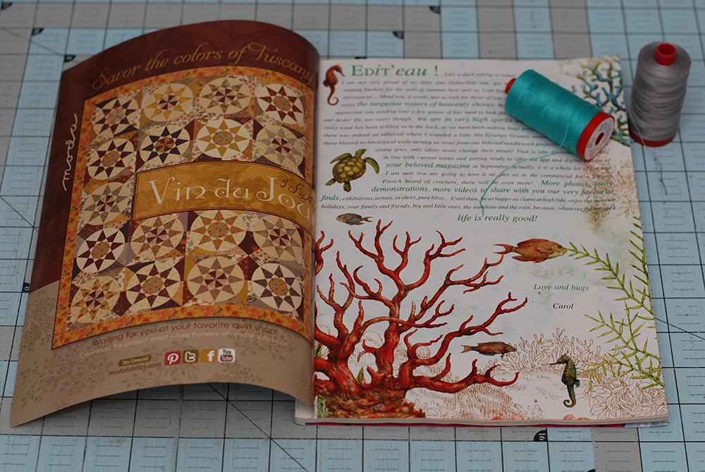 Quiltmania No.96 Â« modafabrics : quilt mania magazine - Adamdwight.com