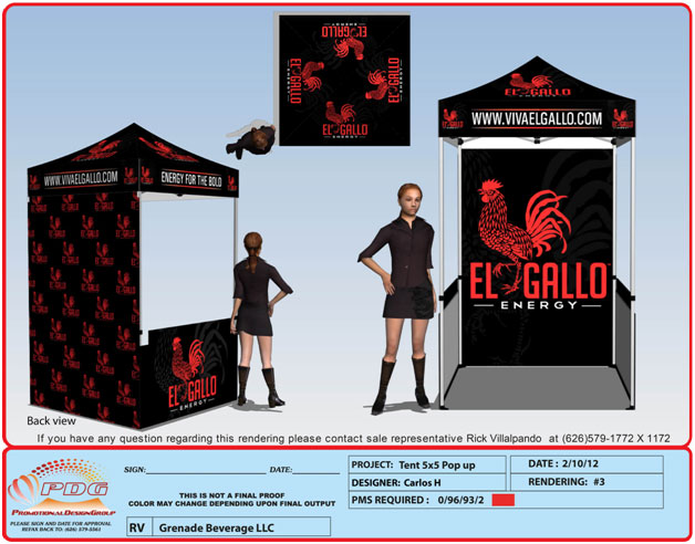 sc 1 st  Promotional Design Group & Promotional Design Group: Custom 5u0027X5u0027 Pop Up Tents