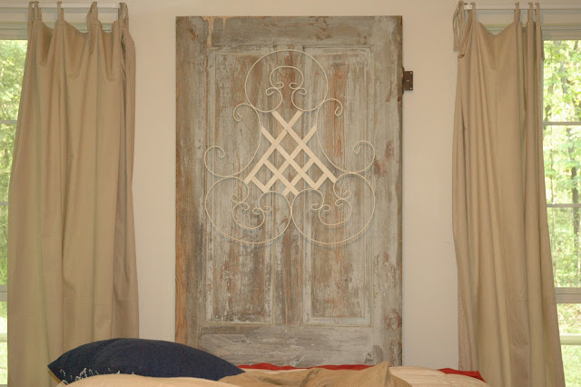 Old Door New Headboard