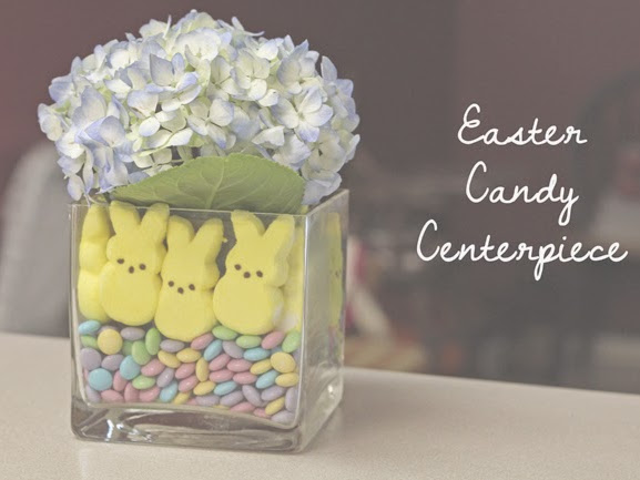 DIY Easter Candy Centerpiece