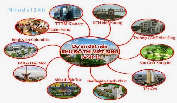 Bán đất nền dự án tại Khu đô thị Việt - Sing The Oasis ảnh 6