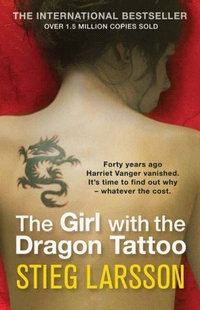 Cover of The Girl with the Dragon Tattoo (a novel by Stieg Larsson)