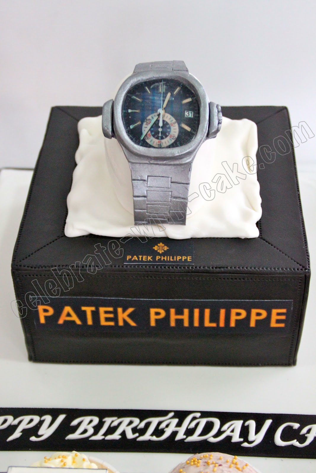 Patek Philippe Watch Topper Cake