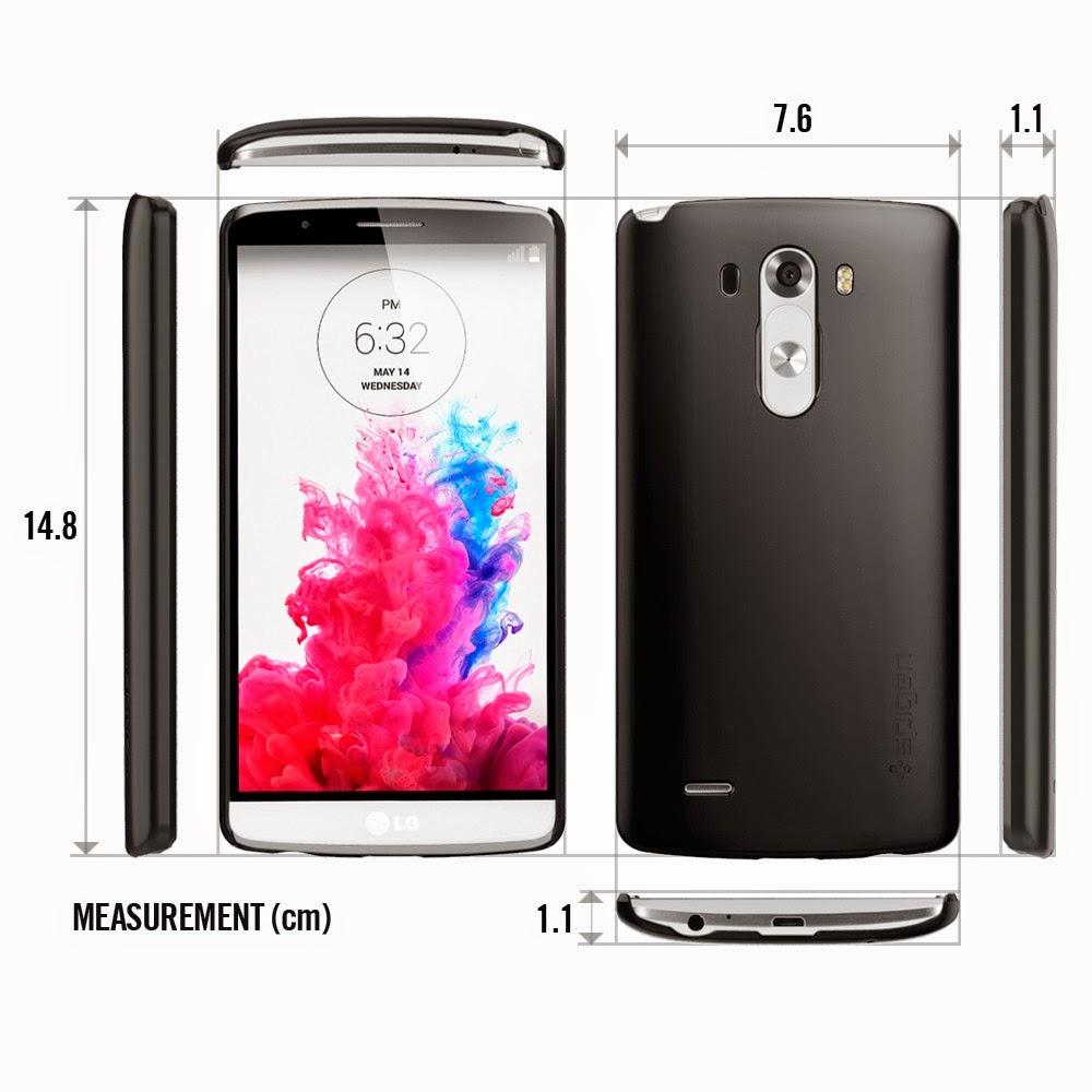LG G3 Design & Dimensions