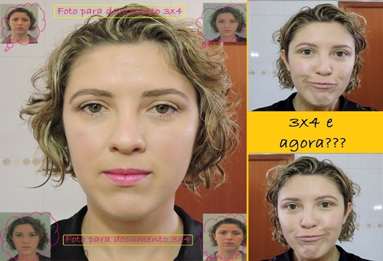 Maquiagem para foto 3x4- documento rg cnh