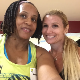 Selfie with ZUMBA Jeanna Bostic
