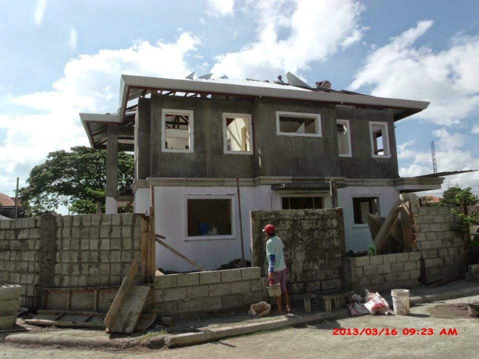 glenville subdivision house construction project in