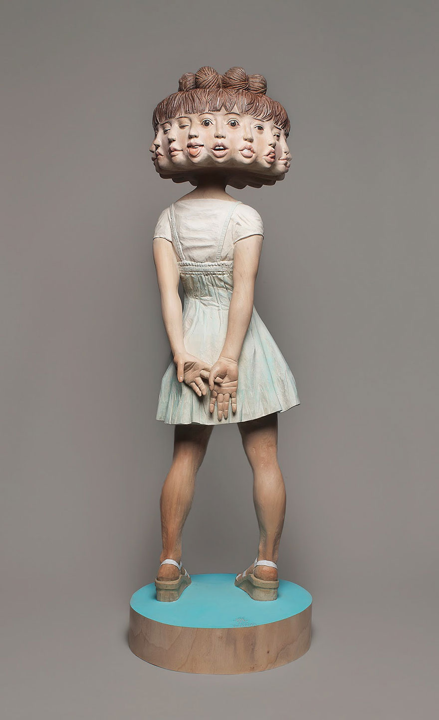 Esculturas Surreais de Yoshitoshi Kanemaki
