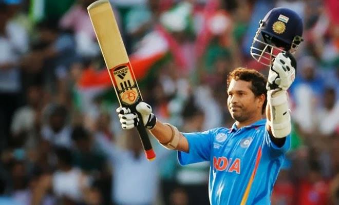 Sachin Tendulkar runs innings Video - Rediff Videos