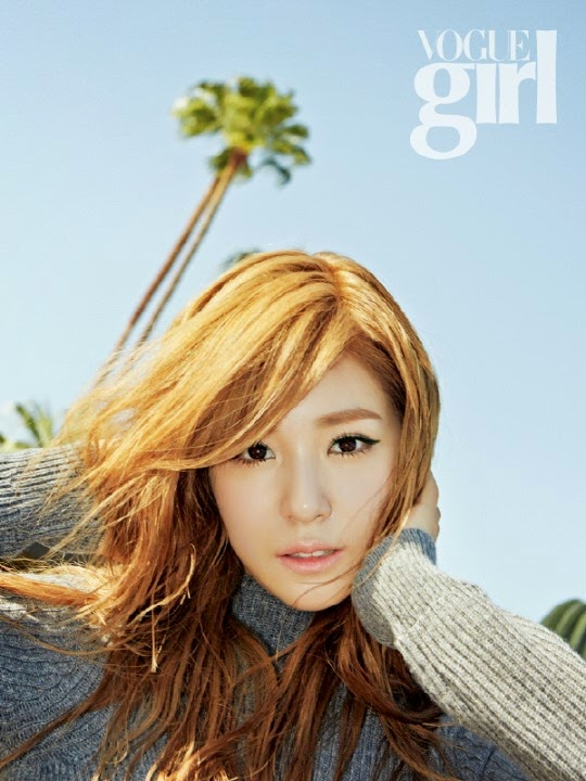 Aiih, Cantiknya Tiffany Girls' Generation Dalam Pemotretan Majalah Vogue Girl