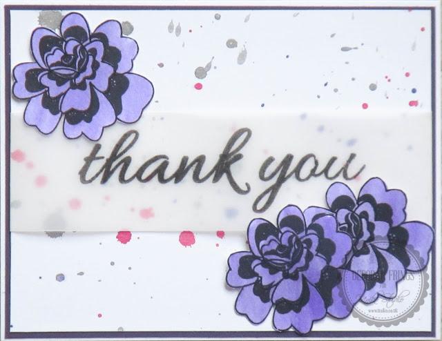 Thank You Sandie - photo by Deborah Frings - Deborah's Gems