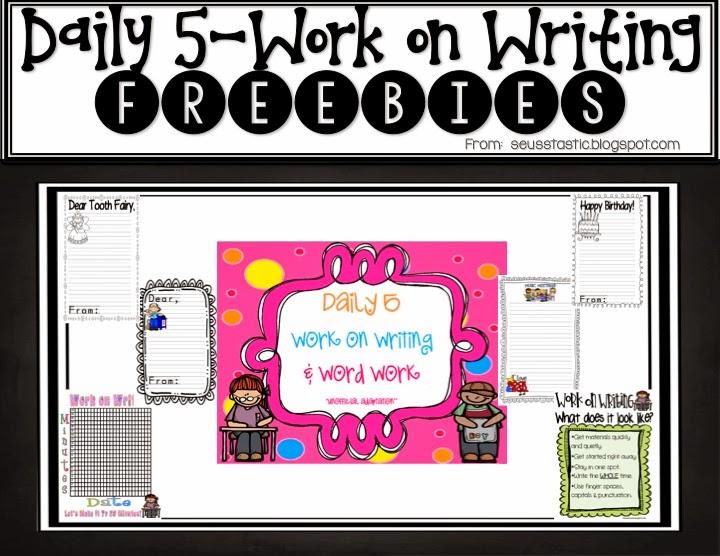 http://www.teacherspayteachers.com/Product/Daily-5-Work-on-Writing-Word-Work-Packet-FREEBIE-280862