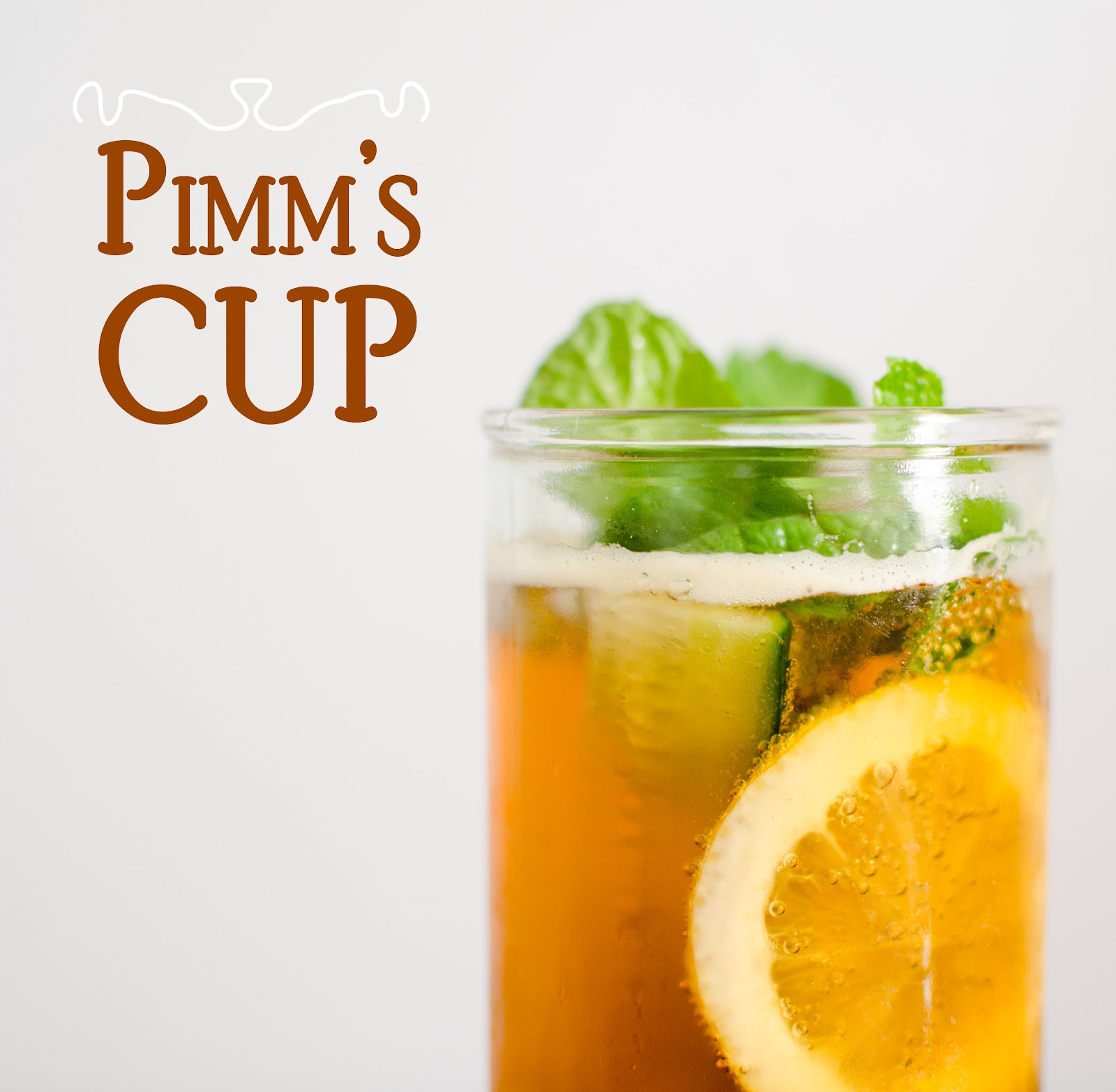 Pimm's Cup Cocktails Recipe — Dishmaps