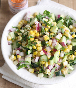 thai corn salad with thai sriracha sea salt by season with spice shop