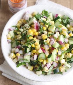 thai corn salad with thai sriracha sea salt by season with spice shop