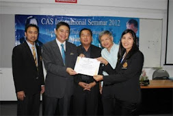 Cas International Seminar 2012 22-23 September 2012 at College of Asian Scholars, Thailand