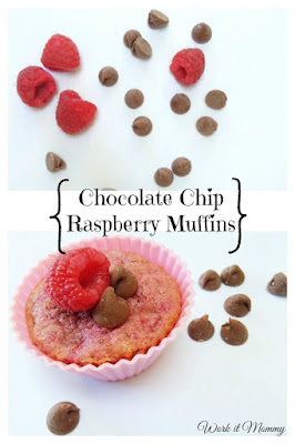Easy to make and gone too fast! Sweet and tart muffins perfect for Valentine's Day or any day!