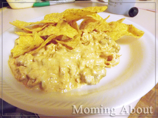 Creamy Chicken Taco Dip | Moming About