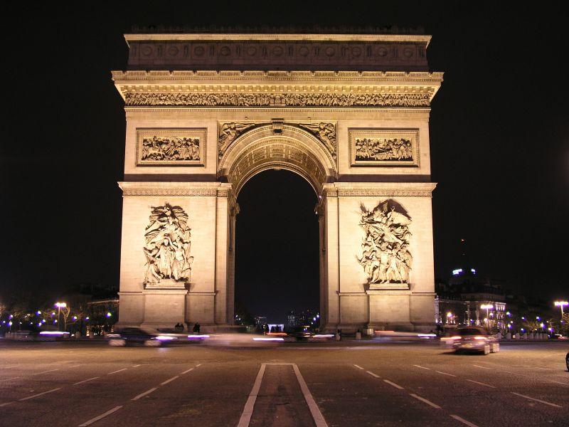 Image result for gambar arc de triomphe