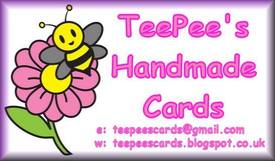 TeePees Handmade Cards!