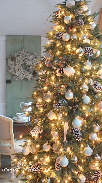 Donna's blog: Christmas tree decorations | French Country Cottage