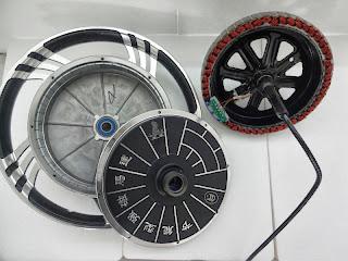 Bicicleta Electrica Motor Metalico imanes de Neodimio 400 Watt