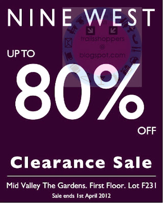 nine west clearance mid valley