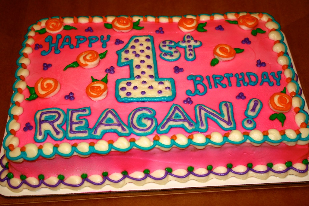 Reagans First 1st Birthday Party